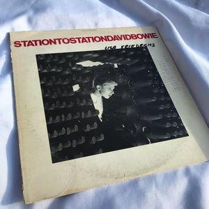 Various vintage Vinyl records